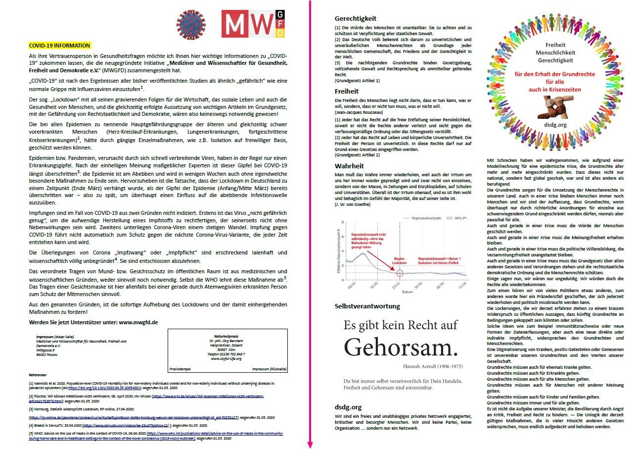 Flyer  mwgfd / dsdg (zweiseitig, Staffelpreise)