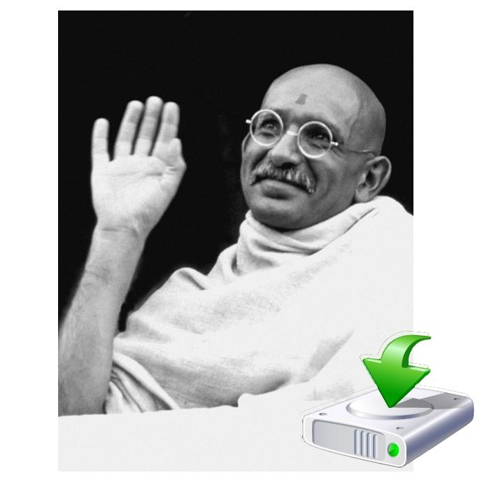 Mahatma Gandhis Weg zur Gesundheit